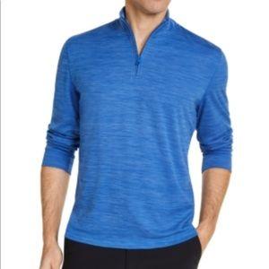 Club Room Men's Quarter-Zip Tech Sweatshirt